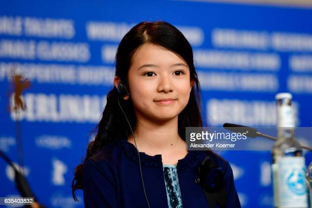 Actress Rinka Kakihara attends the 'CloseKnit' press conference during the 67th Berlinale International Film Festival Berlin at Grand Hyatt Hotel on...