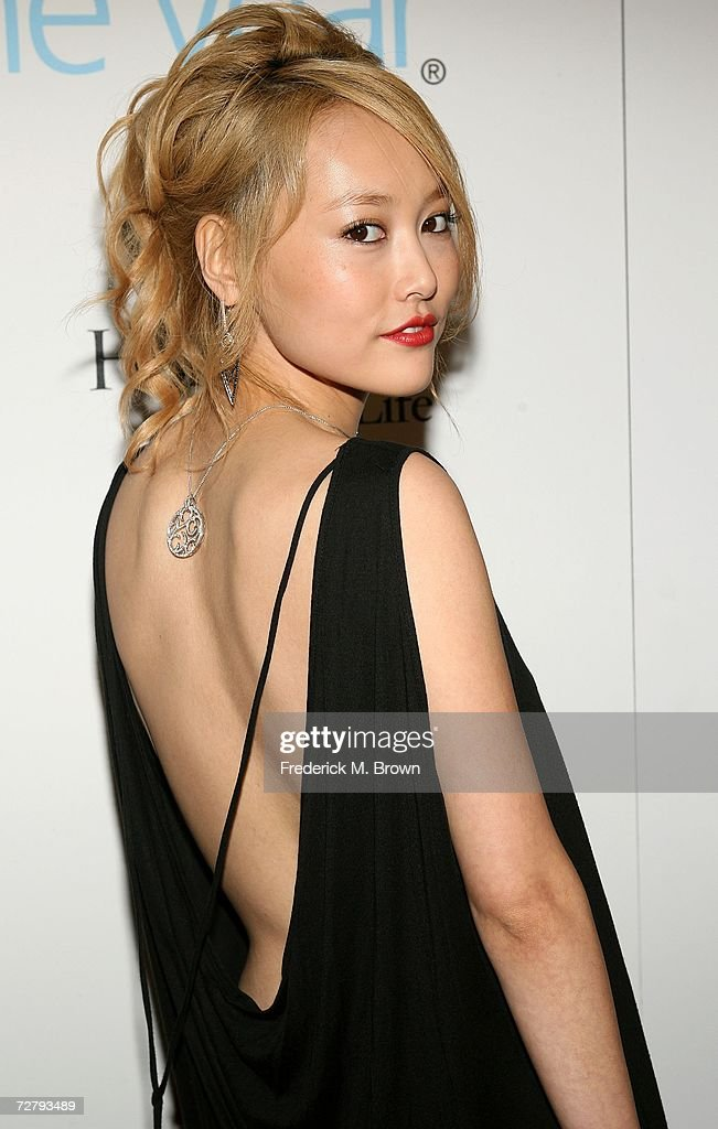 Actress Rinko Kikuchi arrives at the Hollywood Life magazine's 6th Annual Breakthrough Awards held at Henry Fonda Music Box Theatre on December 10, 2006 in Hollywood, California.