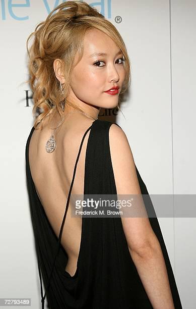 Actress Rinko Kikuchi arrives at the Hollywood Life magazine's 6th Annual Breakthrough Awards held at Henry Fonda Music Box Theatre on December 10...