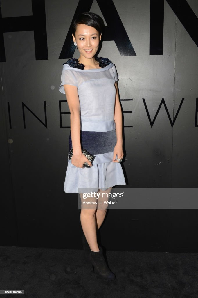 Actress Rinko Kikuchi attends the celebration of CHANEL FINE JEWELRY'S 80th anniversary of the 'Bijoux De Diamants' collection created by Gabrielle Chanel on October 9, 2012 in New York City.