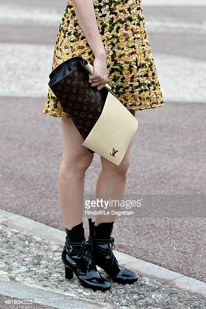 Actress Rinko Kikuchi attends the Louis Vuitton Cruise Line Show 2015 at Palais Princier on May 17 2014 in MonteCarlo Monaco