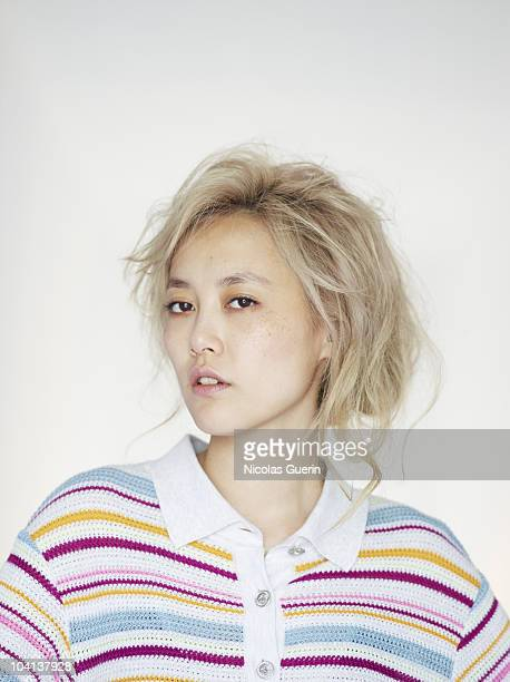 Actress Rinko Kikuchi poses at a portrait session in Venice on September 7 2010