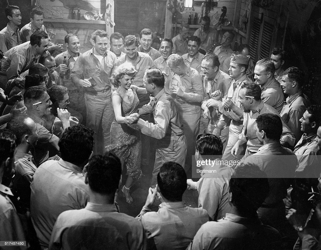 Rita Hayworth Dancing in Miss Sadie Thompson : News Photo
