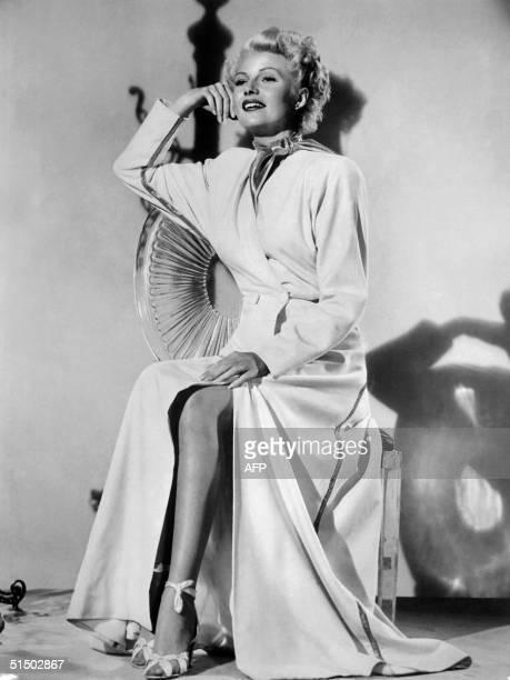 Actress Rita Hayworth, originally Margarita Carmen Cansion , daughter of Spanish dancer Eduardo Cansino, poses for the photographer in February 1948...