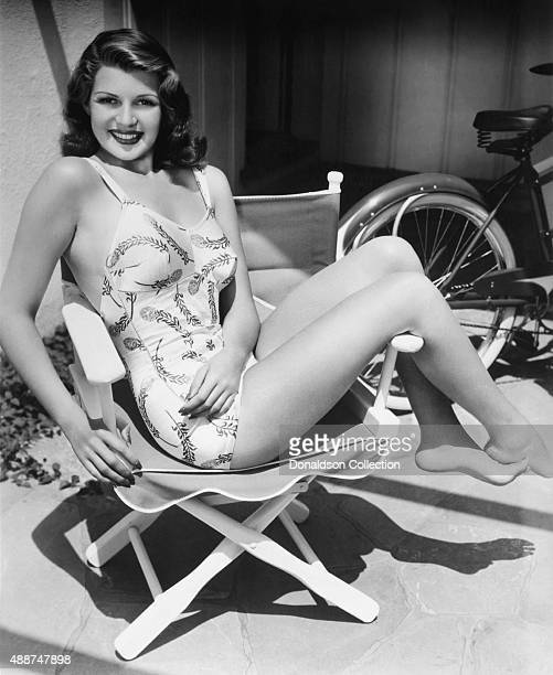 Actress Rita Hayworth poses for a publicity still circa 1937