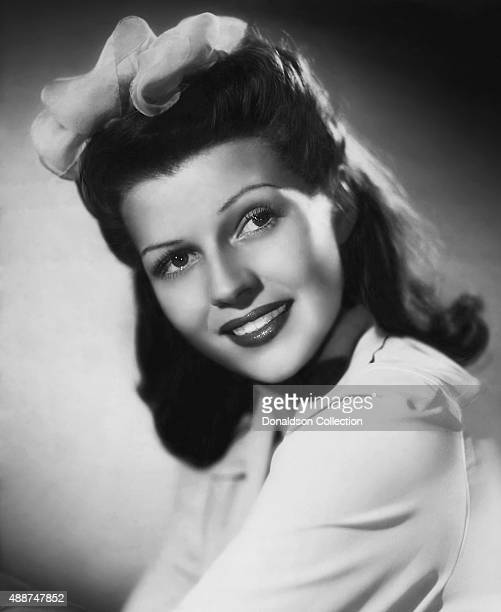Actress Rita Hayworth poses for a publicity still circa 1938