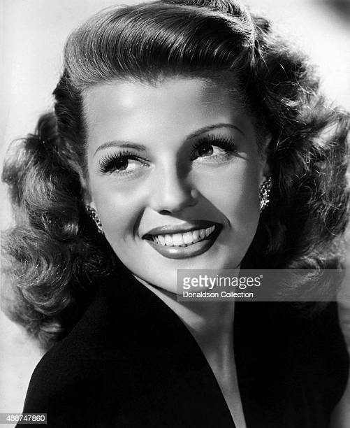 Actress Rita Hayworth poses for a publicity still circa 1942