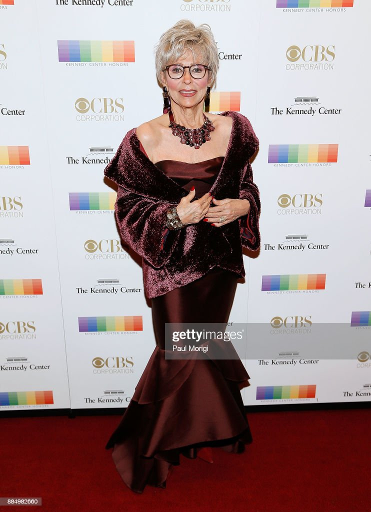 Actress Rita Morena attends the 40th Kennedy Center Honors at the Kennedy Center on December 3, 2017 in Washington, DC.