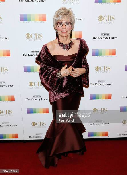 Actress Rita Morena attends the 40th Kennedy Center Honors at the Kennedy Center on December 3 2017 in Washington DC