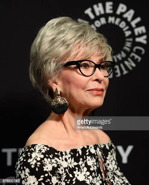 Actress Rita Moreno arrives at the 2017 PaleyLive LA Spring Season An Evening With 'One Day At A Time' screening and panel conversation at The Paley...
