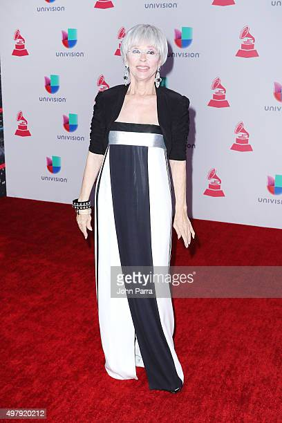 Actress Rita Moreno attends the 16th Latin GRAMMY Awards at the MGM Grand Garden Arena on November 19 2015 in Las Vegas Nevada