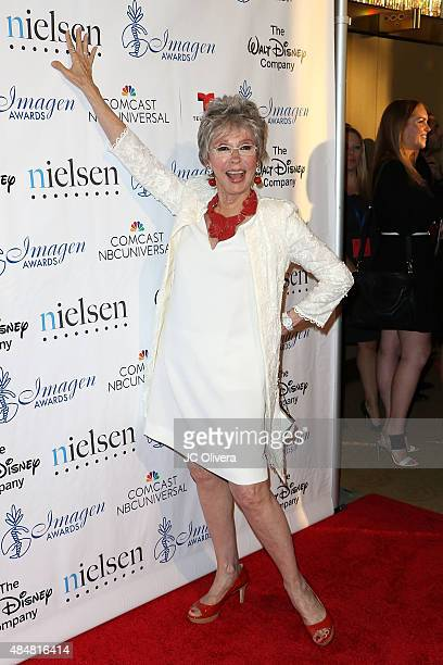Actress Rita Moreno attends The 30th Annual Imagen Awards at Dorothy Chandler Pavilion on August 21 2015 in Los Angeles California