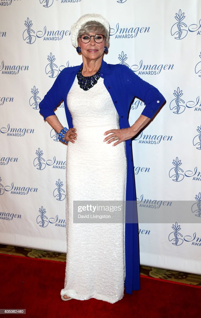Actress Rita Moreno attends the 32nd Annual Imagen Awards at the Beverly Wilshire Four Seasons Hotel on August 18, 2017 in Beverly Hills, California.