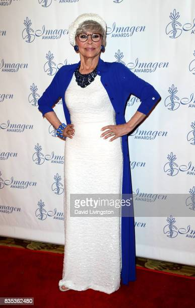 Actress Rita Moreno attends the 32nd Annual Imagen Awards at the Beverly Wilshire Four Seasons Hotel on August 18 2017 in Beverly Hills California