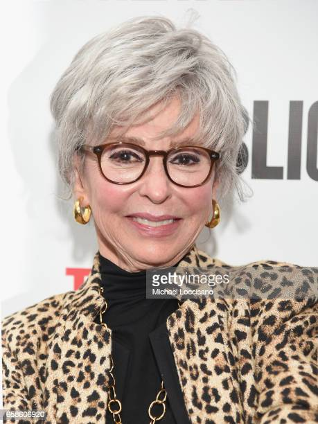 Actress Rita Moreno attends the 'Latin History For Morons' opening night celebration at The Public Theater on March 27 2017 in New York City