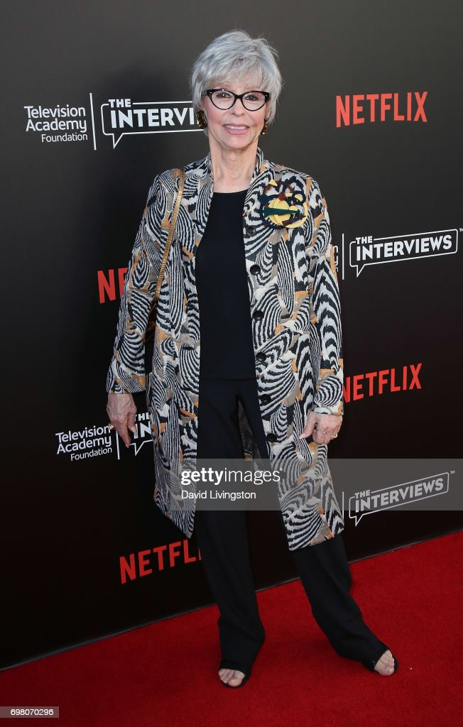 Actress Rita Moreno attends The Power of