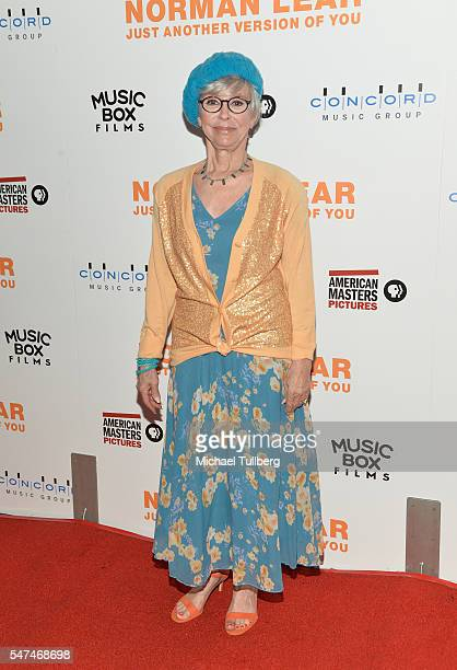"""Actress Rita Moreno attends the premiere of Music Box Films' """"Norman Lear: Just Another Version Of You"""" at The WGA Theater on July 14, 2016 in..."""