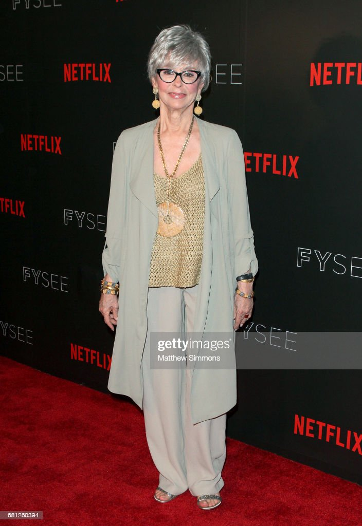 Actress Rita Moreno attends The Women Of Netflix's 'One Day At A Time' For Your Consideration Event at Netflix FYSee Space on May 9, 2017 in Beverly Hills, California.