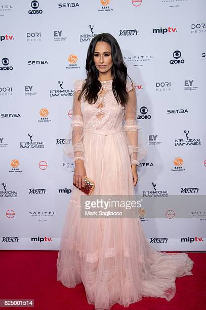Actress Rita Pereira attends the 2016 International Emmy Awards at the New York Hilton on November 21 2016 in New York City