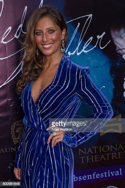 Actress Rita Ramnani attends the Norwegian premiere of Hedda Gabler held at the Vika Cinema on September 08 2016 in Oslo Norway