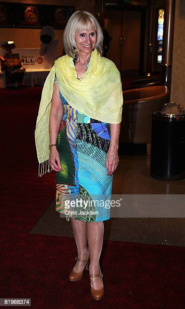 Actress Rita Tushingham arrives at the Puffball Premier at the Empire Leicester Square on July 17 2008 in London England