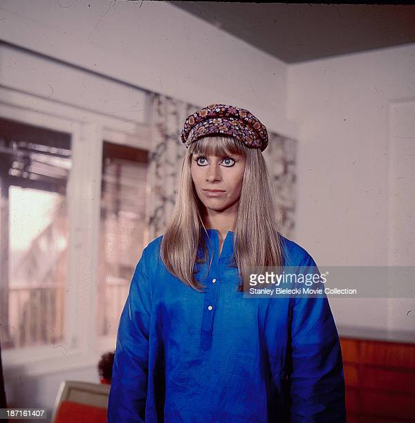 Actress Rita Tushingham in a scene from the movie 'The Guru' 1969