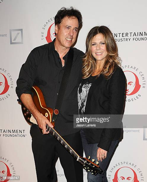 Actress Rita Wilson and brother Chris Wilson attend the 23rd annual Simply Shakespeare benefit reading of The Two Gentlemen of Verona at The Eli and...