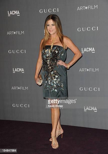 Actress Rita Wilson arrives at LACMA 2012 Art Film Gala at LACMA on October 27 2012 in Los Angeles California