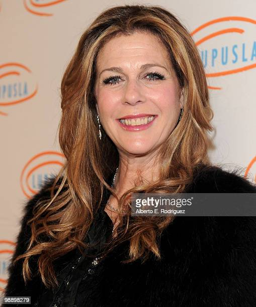 Actress Rita Wilson arrives at the 10th Annual Lupus LA Orange Ball on May 6 2010 in Beverly Hills California