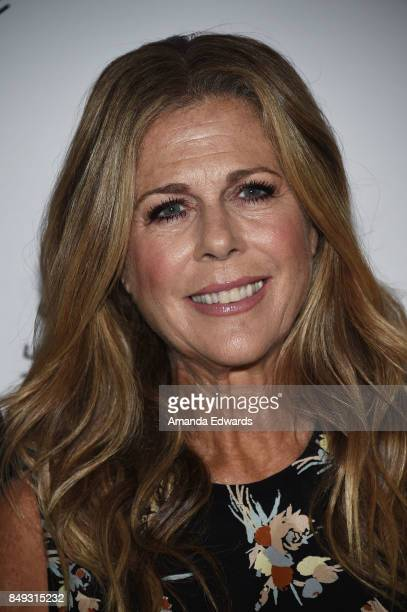 Actress Rita Wilson arrives at the 27th Annual Simply Shakespeare benefit at the Freud Playhouse, UCLA on September 18, 2017 in Westwood, California.