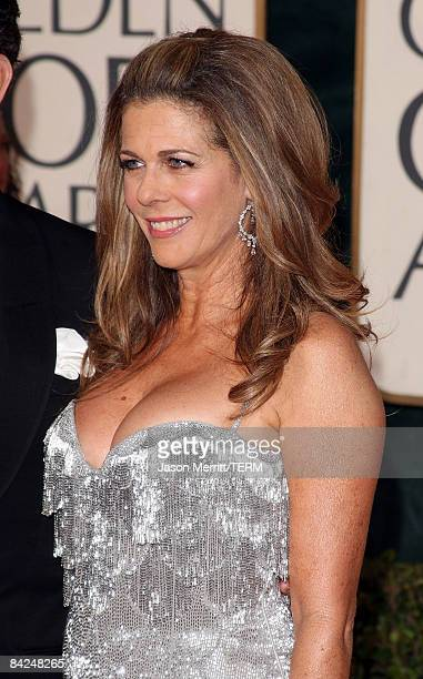 Actress Rita Wilson arrives at the 66th Annual Golden Globe Awards held at the Beverly Hilton Hotel on January 11 2009 in Beverly Hills California