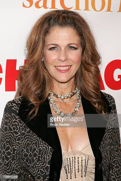 Actress Rita Wilson arrives at the after party for the 10th Anniversary of Broadway's Chicago on November 14 2006 in New York City