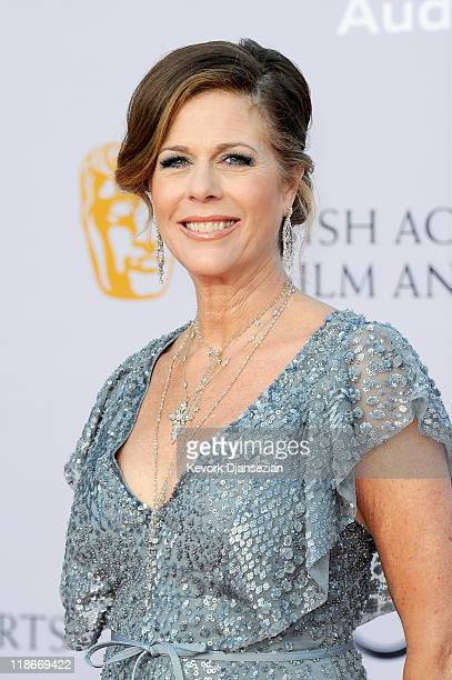 Actress Rita Wilson arrives at the BAFTA Brits To Watch event held at the Belasco Theatre on July 9 2011 in Los Angeles California