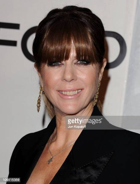Actress Rita Wilson arrives at the Tom Ford Beverly Hills Store Opening at TOM FORD on February 24 2011 in Beverly Hills California