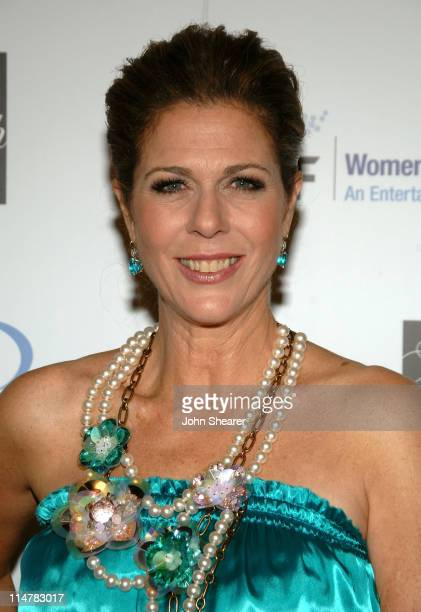 Actress Rita Wilson arrives at the Unforgettable Evening Benefiting The Entertainment Industry Foundation held at the Beverly Wilshire Hotel on...