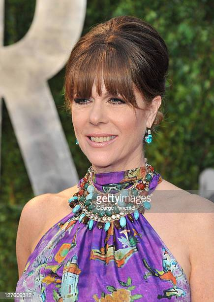 Actress Rita Wilson arrives at the Vanity Fair Oscar party hosted by Graydon Carter held at Sunset Tower on February 27 2011 in West Hollywood...