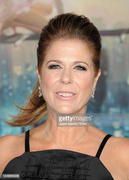 Actress Rita Wilson arrives at Warner Bros Pictures' 'Cloud Atlas' premiere at Grauman's Chinese Theatre on October 24 2012 in Hollywood California