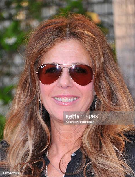 Actress Rita Wilson arrives to the Geffen Playhouse's Annual Backstage at the Geffen Gala on May 2 2011 in Los Angeles California