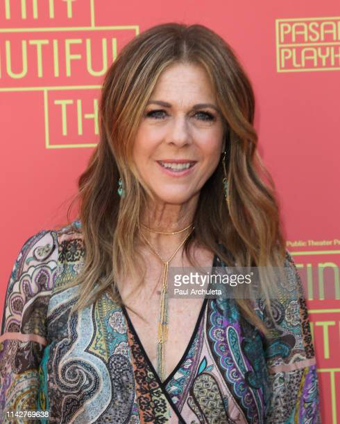 Actress Rita Wilson attends opening night performance of Beautiful Things at Pasadena Playhouse on April 14 2019 in Pasadena California