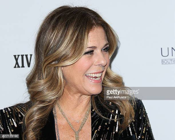 Actress Rita Wilson attends the 2016 Women's Guild Cedars-Sinai Annual Gala at The Beverly Hilton Hotel on November 9, 2016 in Beverly Hills,...