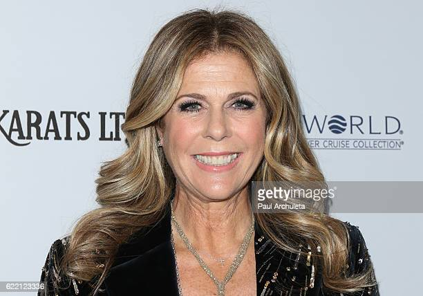 Actress Rita Wilson attends the 2016 Women's Guild CedarsSinai Annual Gala at The Beverly Hilton Hotel on November 9 2016 in Beverly Hills California
