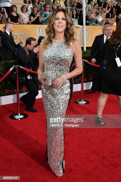 Actress Rita Wilson attends the 20th Annual Screen Actors Guild Awards at The Shrine Auditorium on January 18 2014 in Los Angeles California