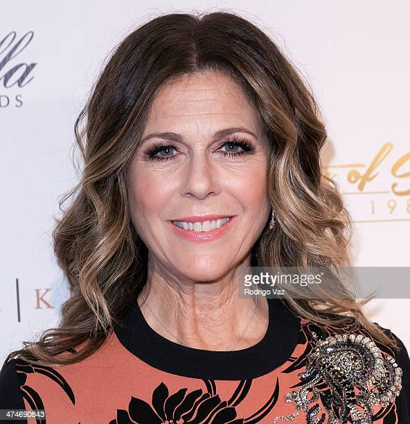 Actress Rita Wilson attends the 21st Annual ELLA Awards at The Beverly Hilton Hotel on February 20 2014 in Beverly Hills California