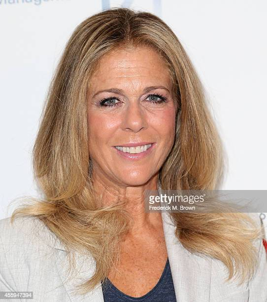 Actress Rita Wilson attends the 24th Annual Simply Shakespeare at the Freud Playhouse UCLA on September 22 2014 in Westwood California