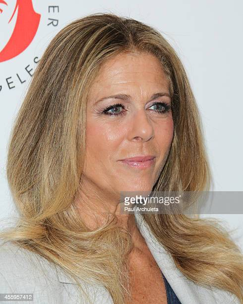 Actress Rita Wilson attends the 24th annual Simply Shakespeare benefit reading of As You Like It at the Freud Playhouse UCLA on September 22 2014 in...