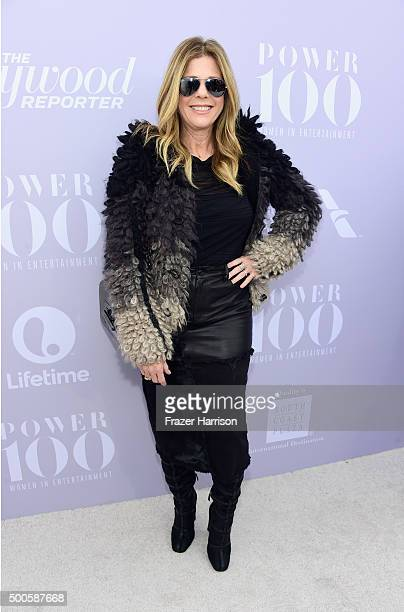 Actress Rita Wilson attends the 24th annual Women in Entertainment Breakfast hosted by The Hollywood Reporter at Milk Studios on December 9 2015 in...