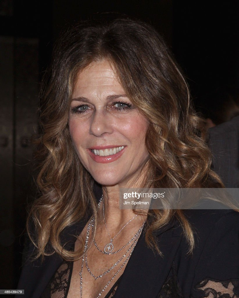 Actress Rita Wilson attends the 25th Anniversary Rainforest Fund Benefit at Mandarin Oriental Hotel on April 17, 2014 in New York City.