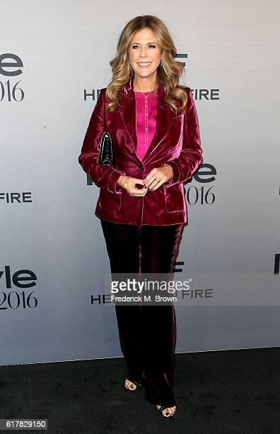 Actress Rita Wilson attends the 2nd Annual InStyle Awards at Getty Center on October 24 2016 in Los Angeles California
