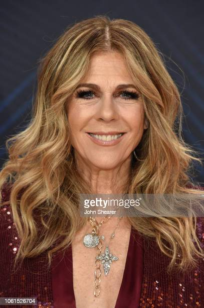 Actress Rita Wilson attends the 52nd annual CMA Awards at the Bridgestone Arena on November 14, 2018 in Nashville, Tennessee.