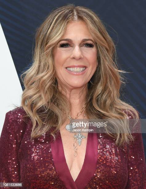Actress Rita Wilson attends the 52nd annual CMA Awards at the Bridgestone Arena on November 14 2018 in Nashville Tennessee